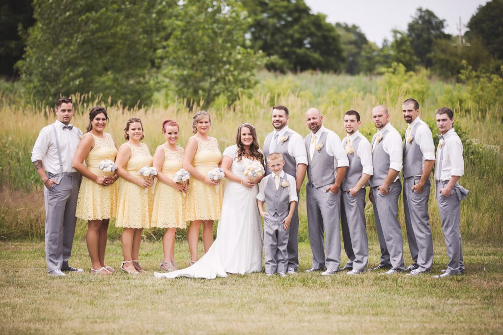 Kayla and Josh Wedding - Duneland Falls - Chesterton, IN