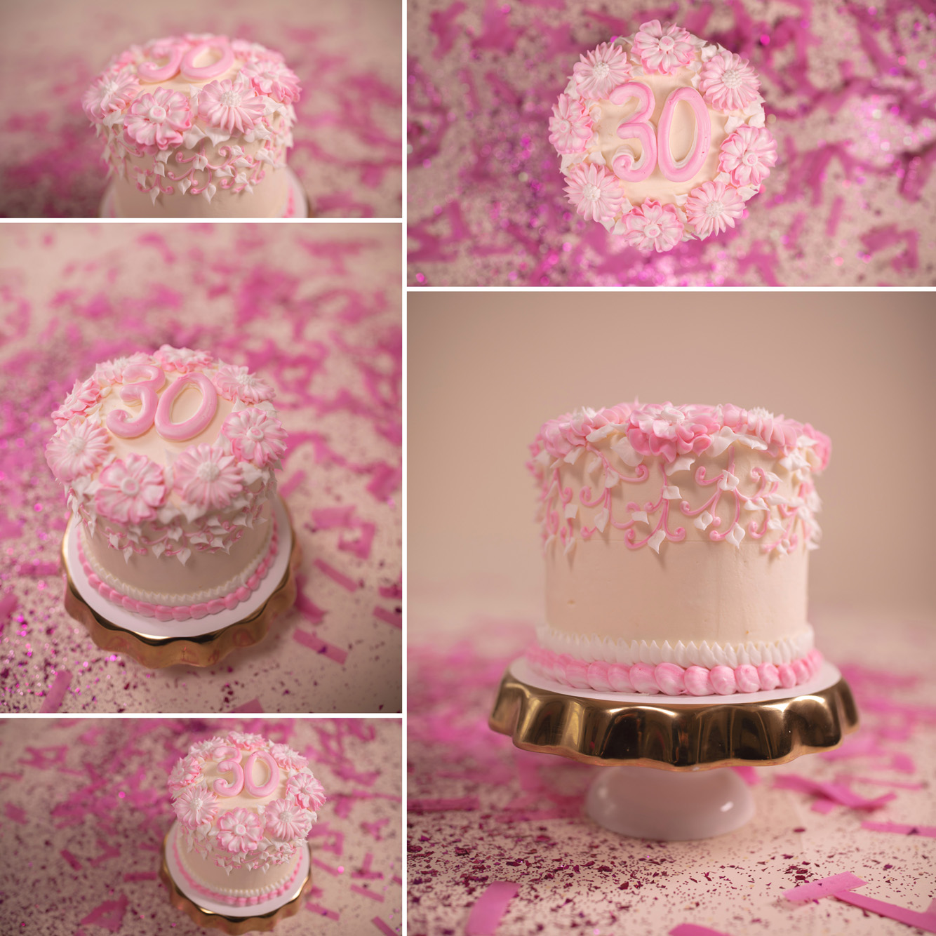 Cake smash by Scones and Doilies