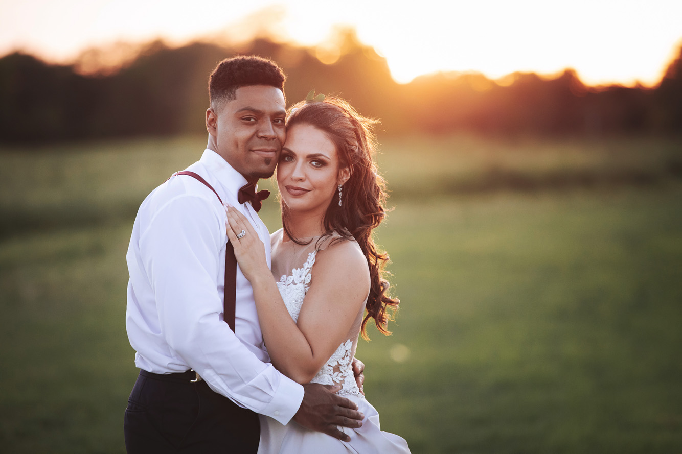 Sunset at New Journey Farms - Kylee and D'Angelo